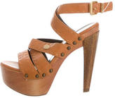 Fendi Selleria Platform Sandals