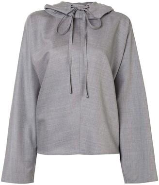 Sofie D'hoore Hooded Suiting Sweatshirt