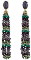 Lauren Ralph Lauren Beaded Tassel Clip-On Earrings