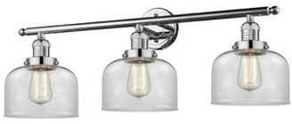 Latitude Run Merha 3-Light Polished Chrome Vanity Light