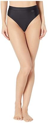 Body Glove Smoothies Marlee High-Waist Bikini Bottoms (Black) Women's Swimwear