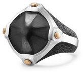 David Yurman Men's Sterling Silver & Bronze Anvil Signet Ring with Hematine