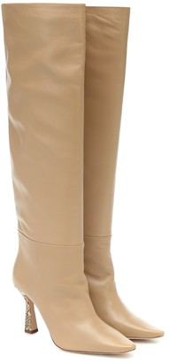 Wandler Lina knee-high leather boots