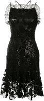 Rodarte embroidered shift dress - women - Silk/Nylon/Polyester - 6