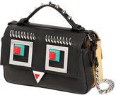 Fendi Micro Double Baguette Faces Leather Bag