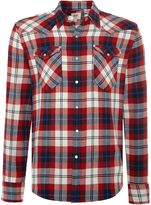 Levi's Men's Slim fit barstow western checked shirt