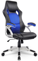 PU Leather & Mesh Racing Style Office Chair