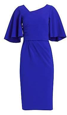 e4e189062e Cocktail Dress Flutter Sleeve - ShopStyle
