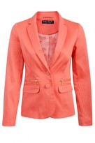 Select Fashion Coral Edge 2 Edge Blazer - Womens - Select - size 8