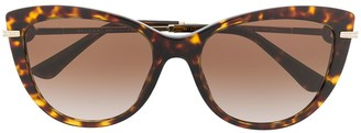 Bulgari cat eye sunglasses