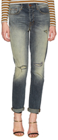 J Brand Distressed Boyfriend Jean