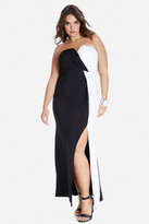 Fashion to Figure Avery Color-Block Maxi Dress