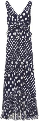 Diane von Furstenberg Misha printed silk maxi dress
