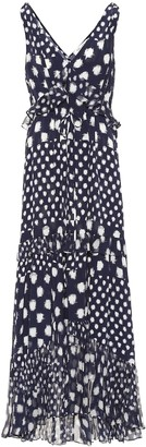 Diane von Furstenberg Misha printed silk maxi dress