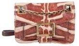 Roger Vivier Leather Metro Bag