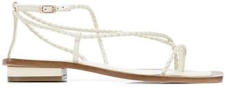 Cult Gaia Juno woven sandals