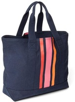 Gap Vertical stripe medium utility tote