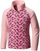 Columbia Glacial II Fleece Sweater - Zip Neck (For Big Girls)