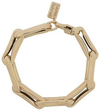 LAUREN RUBINSKI 14kt Yellow Gold Chunky Chain Bracelet