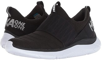 Hoka One One Hupana Slip (Black/White) Women's Running Shoes