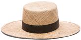 Janessa Leone Jade Bolero Hat in Neutrals.