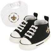 Baby Fanatic BFA-NOS30002 New Orleans Saints NFL Infant Bib and Shoe Gift Set