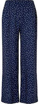 John Lewis Children's Spot Trousers, Navy