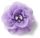 White House Black Market Lilac Flower Pin/Clip