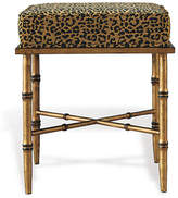 Port 68 Arietta Gold Stool - Leopard
