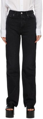Our Legacy Black Spiral Cut Jeans