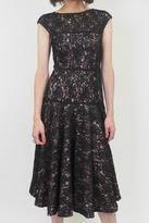 Black Halo Lace Thea Dress