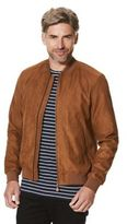 F&F Faux Suede Bomber Jacket, Men's