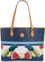 Giani Bernini Saffiano Fruit-Print Large Tote, Created for Macy's