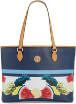 Giani Bernini Saffiano Fruit-Print Large Tote, Only at Macy's