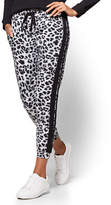 New York & Co. Soho Street - Slim Jogger Pant - Leopard Print