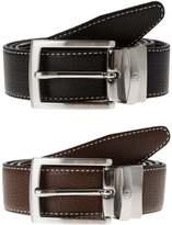 Aigner Belt Black Brown