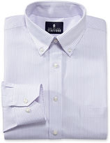 JCPenney Stafford Executive Non-Iron Cotton Pinpoint Oxford-Big & Tall