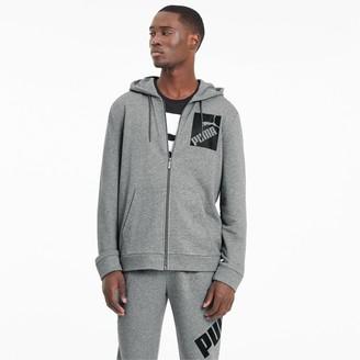 Puma Big Logo Men's Full Zip Hoodie