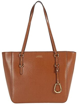 Lauren Ralph Lauren Bennington Shopper Medium (Lauren Tan) Handbags