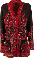 Etro Fringed Edge Detail Buttoned Cardigan
