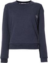 """RE/DONE Reconstructed """"C"""" logo sweatshirt"""