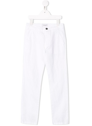Paolo Pecora Kids Classic Skinny Trousers