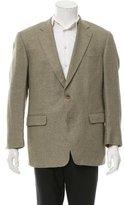 Burberry Woven Two-Button Blazer