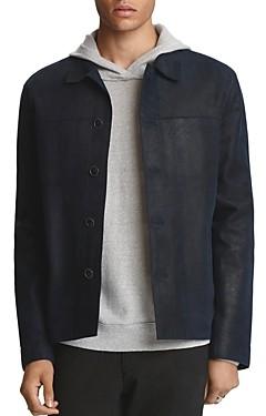 John Varvatos Collection Sheepskin Slim Fit Jacket