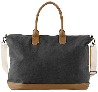 Cathy's Concepts Cathy Concepts Personalized Washed Canvas Weekender Tote