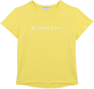 Givenchy Girl's Logo Printed Solid Cotton T-Shirt, Size 12-14