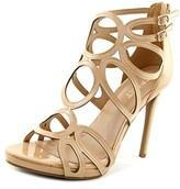 Report Triton Open Toe Patent Leather Sandals.