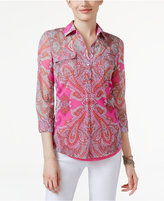 INC International Concepts Printed Shirt, Only at Macy's