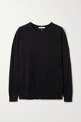 Ninety Percent Net Sustain Organic Merino Wool Sweater - Black