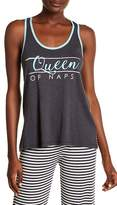 PJ Salvage Queen of Naps Pajama Tank Top